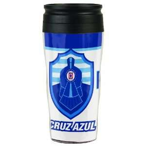 MLS Club Deportivo Cruz Azul 16 Ounce Travel Mug: Sports