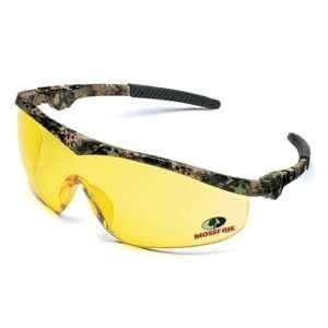 Crews MO114 Camoflage W/Amber Lens Mossy Oak Ratchet Glasses: