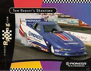 1996 TOM HOOVER NHRA DRAG RACING FUNNY CAR PHOTO