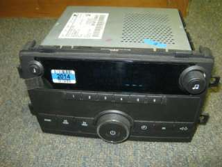 NEW 08 10 Chevy/GMC Truck/Van Delco AM/FM Radio Player