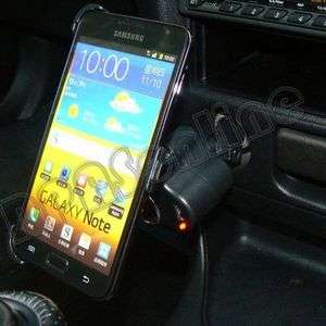 All in one Car Mount Holder w/ Car Charger for Samsung Galaxy Note