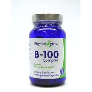 Physiologics   B 100 Complex 100 mg 60 vcaps Health