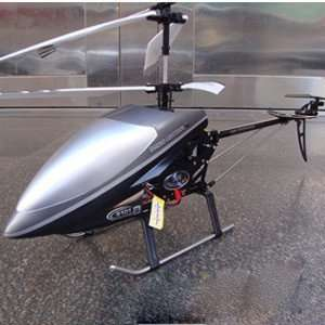 super 78cm remote control airplane helicopter gyro metal