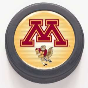 Minnesota Golden Gophers Official Hockey Puck: Sports & Outdoors