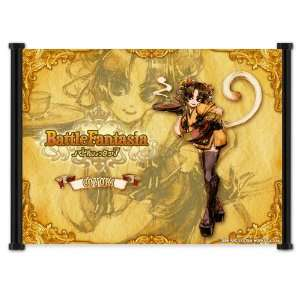 Battle Fantasia Game Fabric Wall Scroll Poster (21x16) Inches
