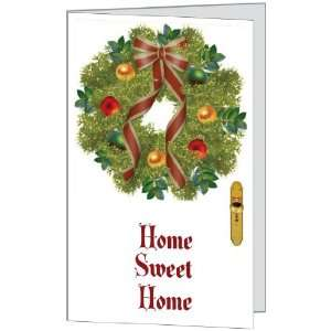 Christmas Holiday Merry Season Home Sweet Wreath Love Daughter Son