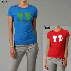 Boy Meets Girl Womens Alice Logo T shirt
