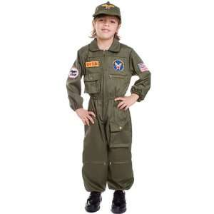 Air Force Pilot Costume Child Small 4 6 Military Uniforms