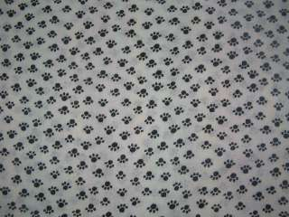 Dog cat animal Paw Print window Valance Curtain