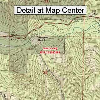 Map   Sierra City, California (Folded/Waterproof)