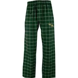 William & Mary Tribe Gridiron Flannel Pants
