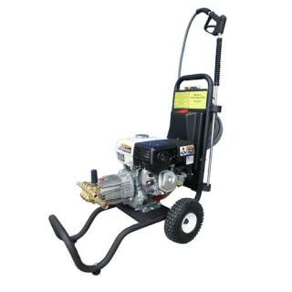 3000 PSI Cold Water Gas Pressure Washer with 9 HP Honda Engine Tools