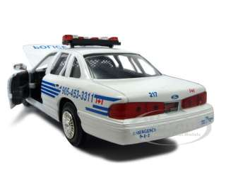 1998 FORD CROWN VICTORIA PEEL REGIONAL POLICE CAR 124