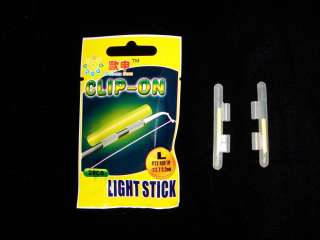 25 Packages Fishing Green Fluorescent Light Glow Stick