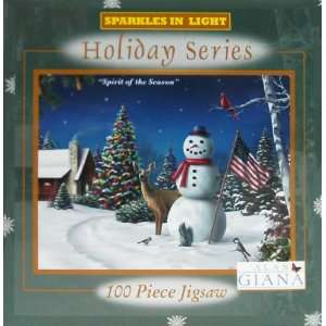 Alan Giana Holiday Series 100 Piece Jigsaw Puzzle   Spirit