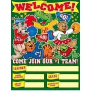 Friend 978 0 439 92026 1 Welcome Back Team Chart Toys & Games