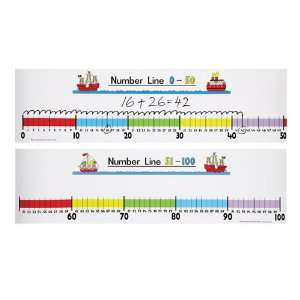 Student Number Line (0 100) Toys & Games