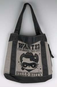 Loungefly Hello Kitty Black Bandit Tote bag 2738
