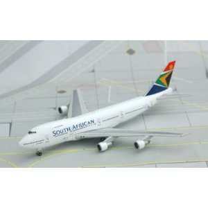 Jet X 1400 South African 747 200 Model Airplane