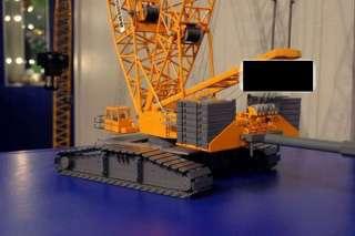 Liebherr 1/50 scale LR 1750 Crawler Crane   HUGE