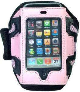 PINK SPORT ARMBAND CASE COVER FOR IPHONE IPOD 3GS 4 4G