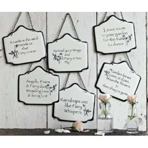 America Retold Fairy Signs, Set of 6