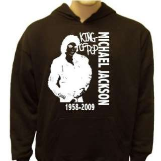 Michael Jackson King Of Pop Tribute Hoodie Clothing