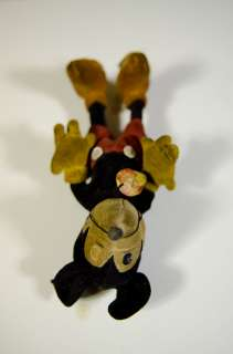 1930s Velvet Mickey Mouse Steiff Doll