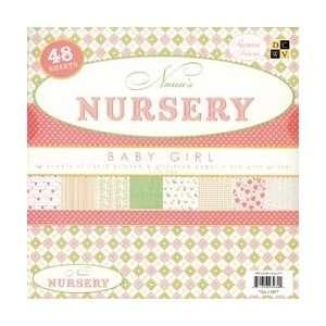Nanas Nursery Baby Girl Paper Stack 12X12 Arts, Crafts