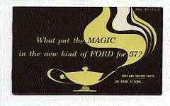 ford motor company press release a new kind of ford for 57 for 1957