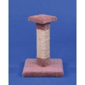 Cat Post W/sisal Top (Catalog Category Cat / Cat Scratching Posts