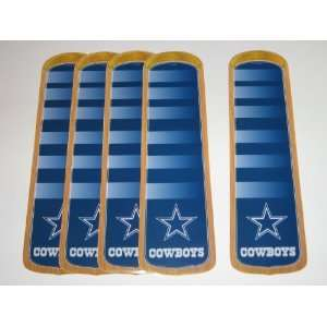 DALLAS COWBOYS Ceiling Fan Blade Appliques (5 1/2 x 17