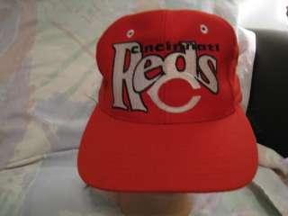 Mens Ladies 7 Cincinnati Reds Fitted Hat Cap L@@K