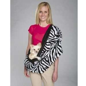Reversible Sling Pet Carrier in Zebra   ZA012 12