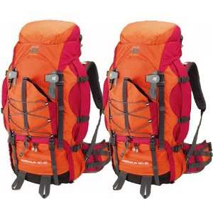 MATCHED PAIR OF ADRENALINE 5,000 CU IN INTERNAL FRAME BACKPACKS BY