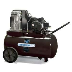 20 Gallon Oil Lubricated Belt Drive Industrial Air Compressor Tools