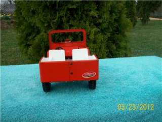 TONKA Good Original 1970s Life Guard Jeep Original Toy