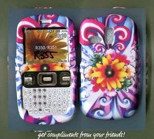 Samsung r355 R355c Straight Talk Cover Case flowersun