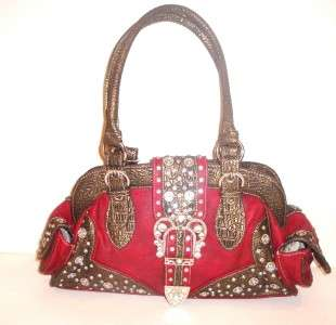 Country Road Montana West Buckle Design Handbag   NWT