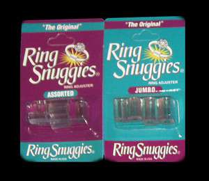 Ring Snuggies   The Original Ring Adjusters   Sizers Jewelry Silver
