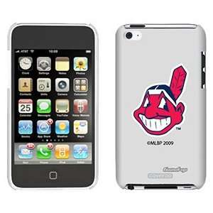 Cleveland Indians Mascot on iPod Touch 4 Gumdrop Air Shell