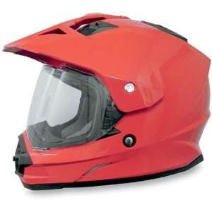 AFX FX 39 Dual Sport Motorcycle Helmet Red Small S 0110