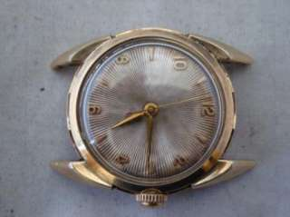 Superb Vintage Art Deco Bulova L4 Fancy Lugs Case Dial Automatic Watch