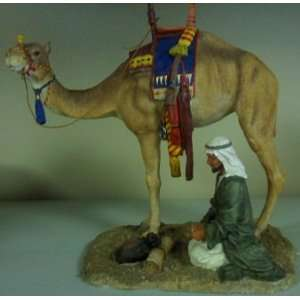 Kneeling with Camel Egyptian Figurine 6861  Home & Kitchen