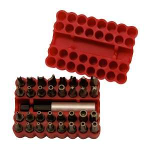 Stay Sharp 33 Piece Security and Tamper Proof Bit Set in Plastic Case