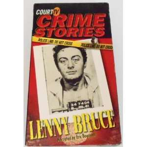 Crime Stories   Lenny Bruce [VHS] Court TV Crime Stories Movies & TV