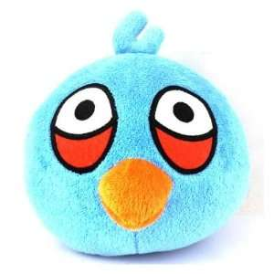 Angry Birds Soft Plush Doll S6 5 inch   Blue Toys & Games