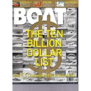 Boat International Magazine (The Ten Billion Dollar List