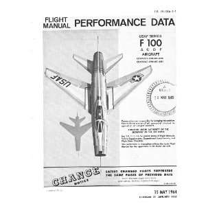 North American Aviation F 100 Aircraft Performance Manual