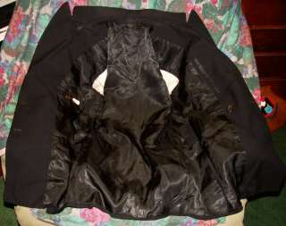 WWII WOOL NAVY BLACK COAT AND NICE